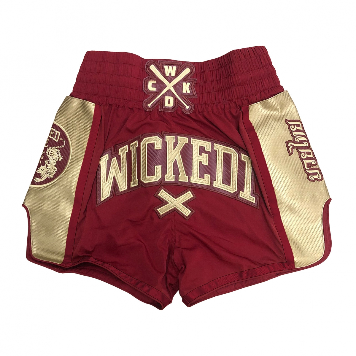 Short Wicked one Shinning Bordeaux