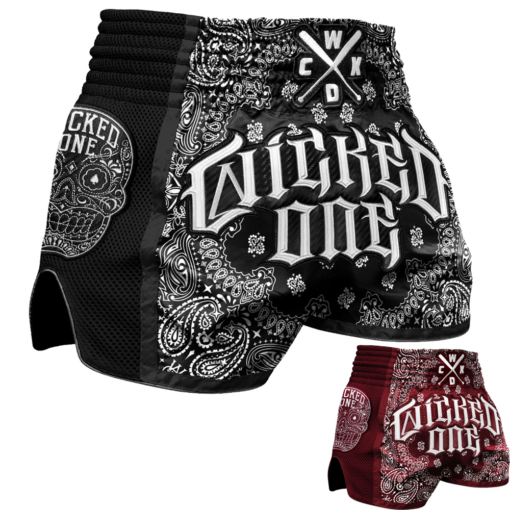 Short de boxe Thaï & Kickboxing Wicked one OG