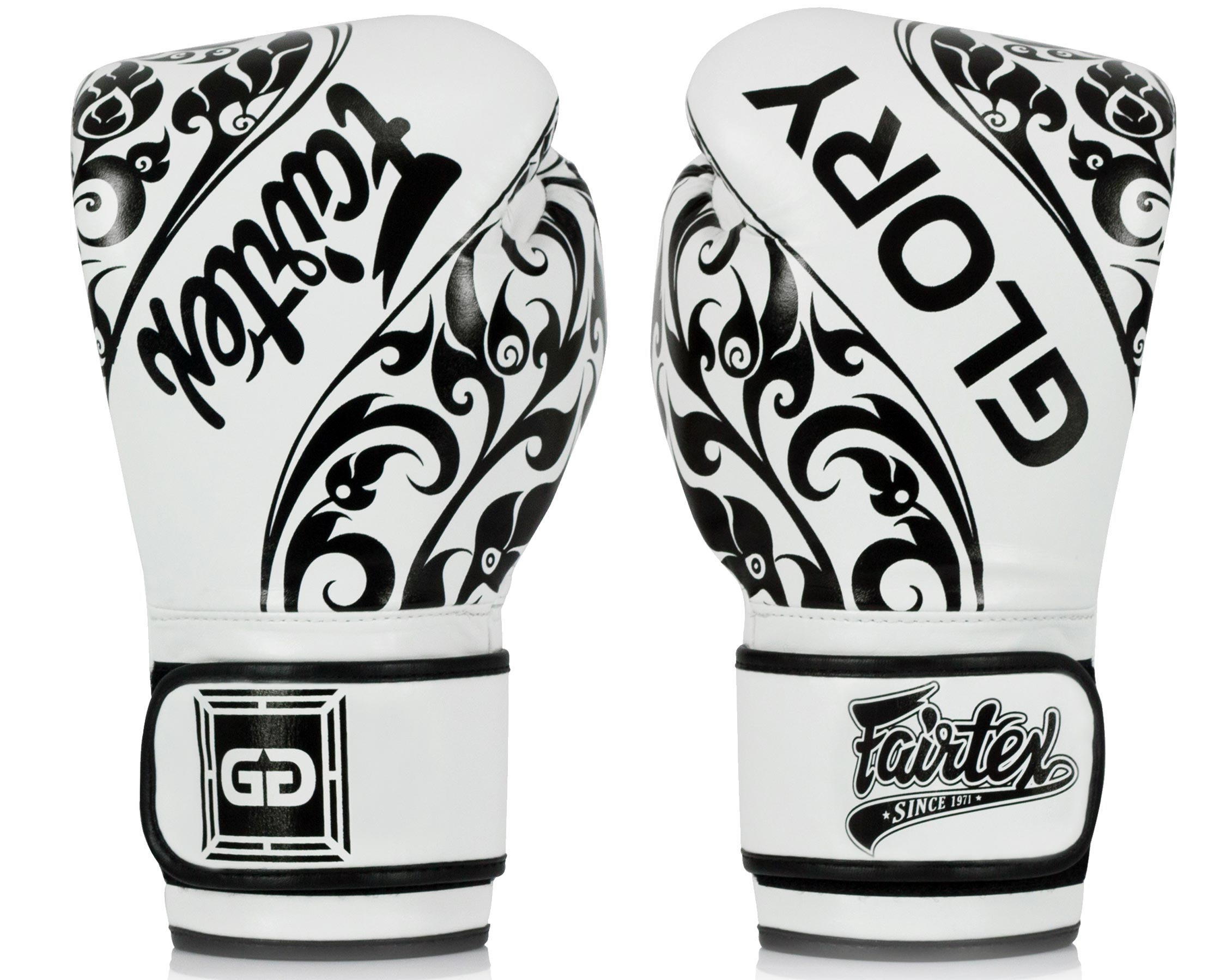 Gants de boxe Fairtex Glory Blanc