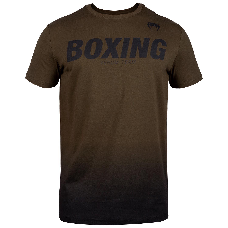 T-shirt Venum Boxing Kaki et Noir