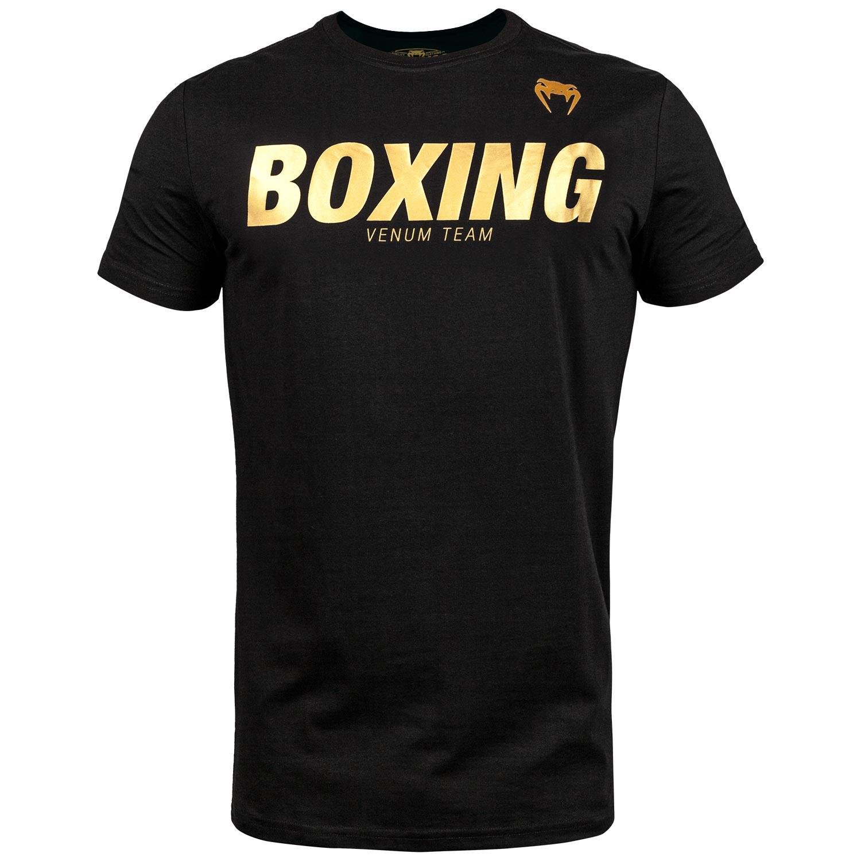 T-shirt Venum Boxing Noir - Doré