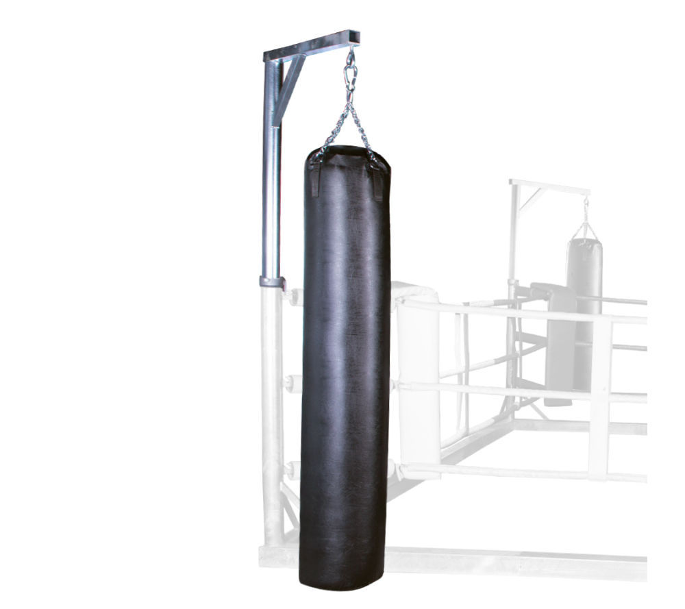 Potence sur ring de boxe