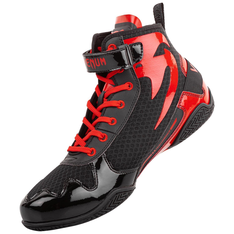 Chaussure boxe Anglaise Venum Gaint Low Noir et Rouge