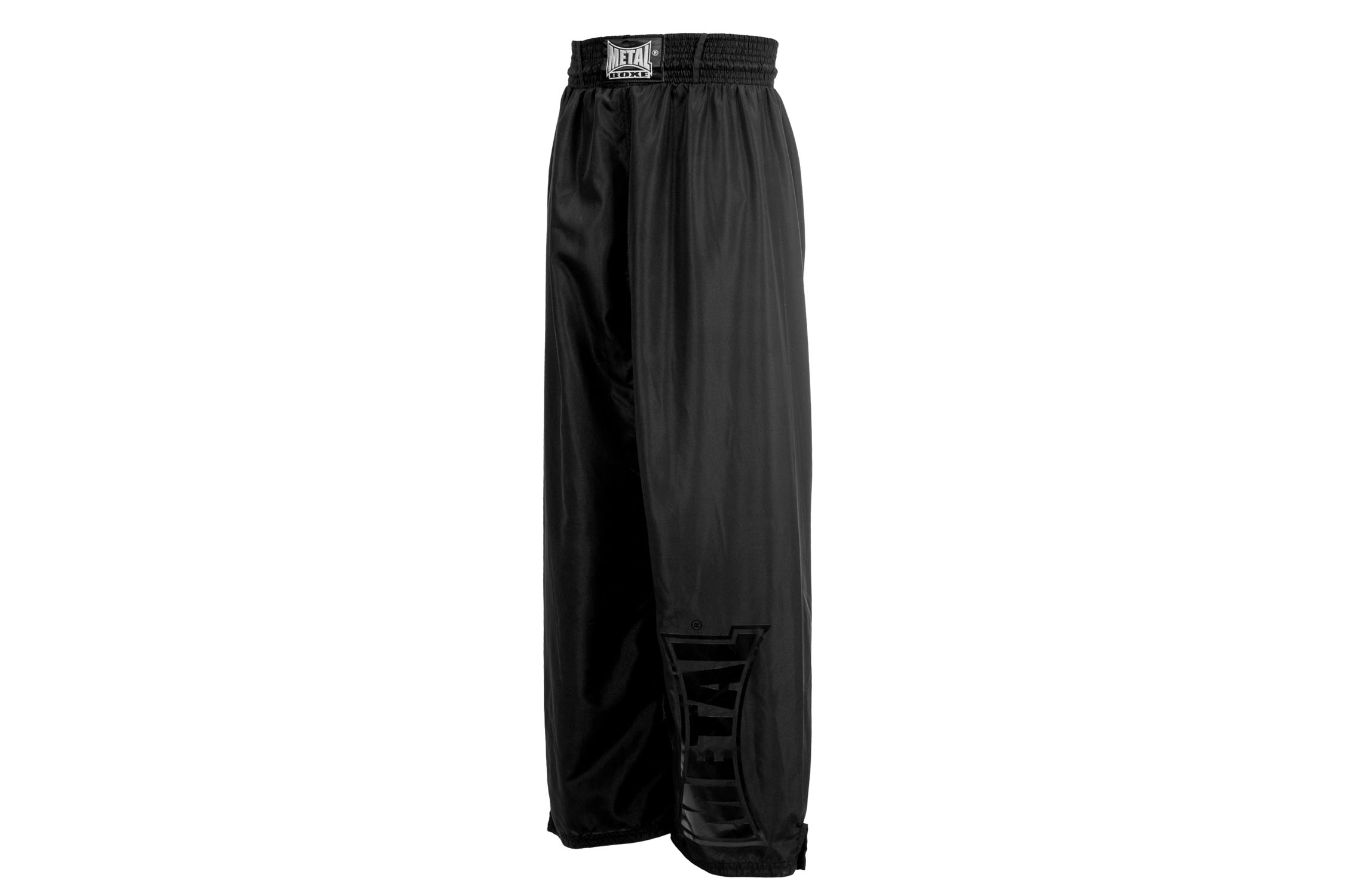 Pantalon de full contact Black light Métal boxe