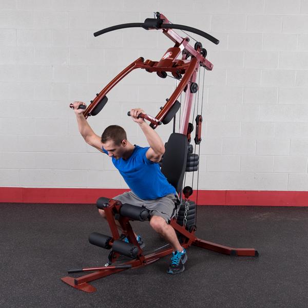 Station de musculation sportsman multifonction