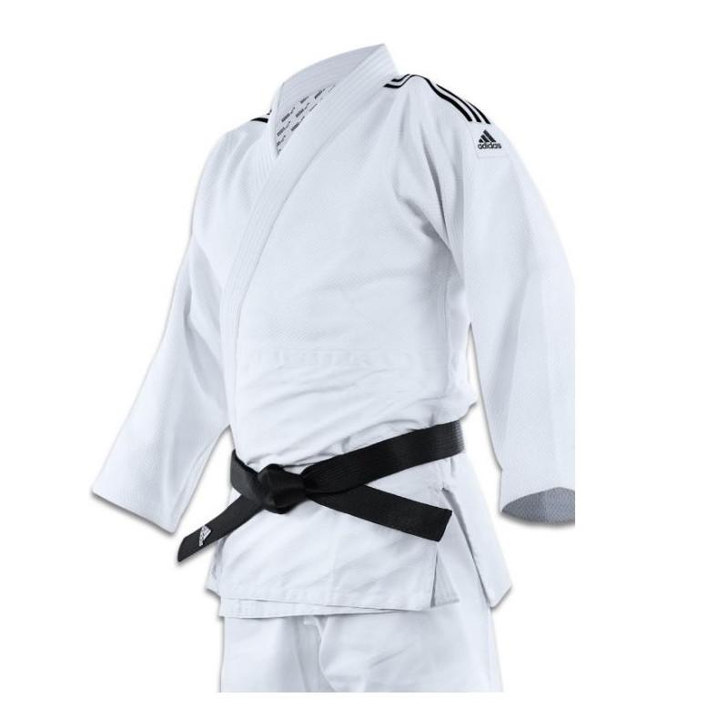 Kimono Judo Adidas J690 bandes Noires