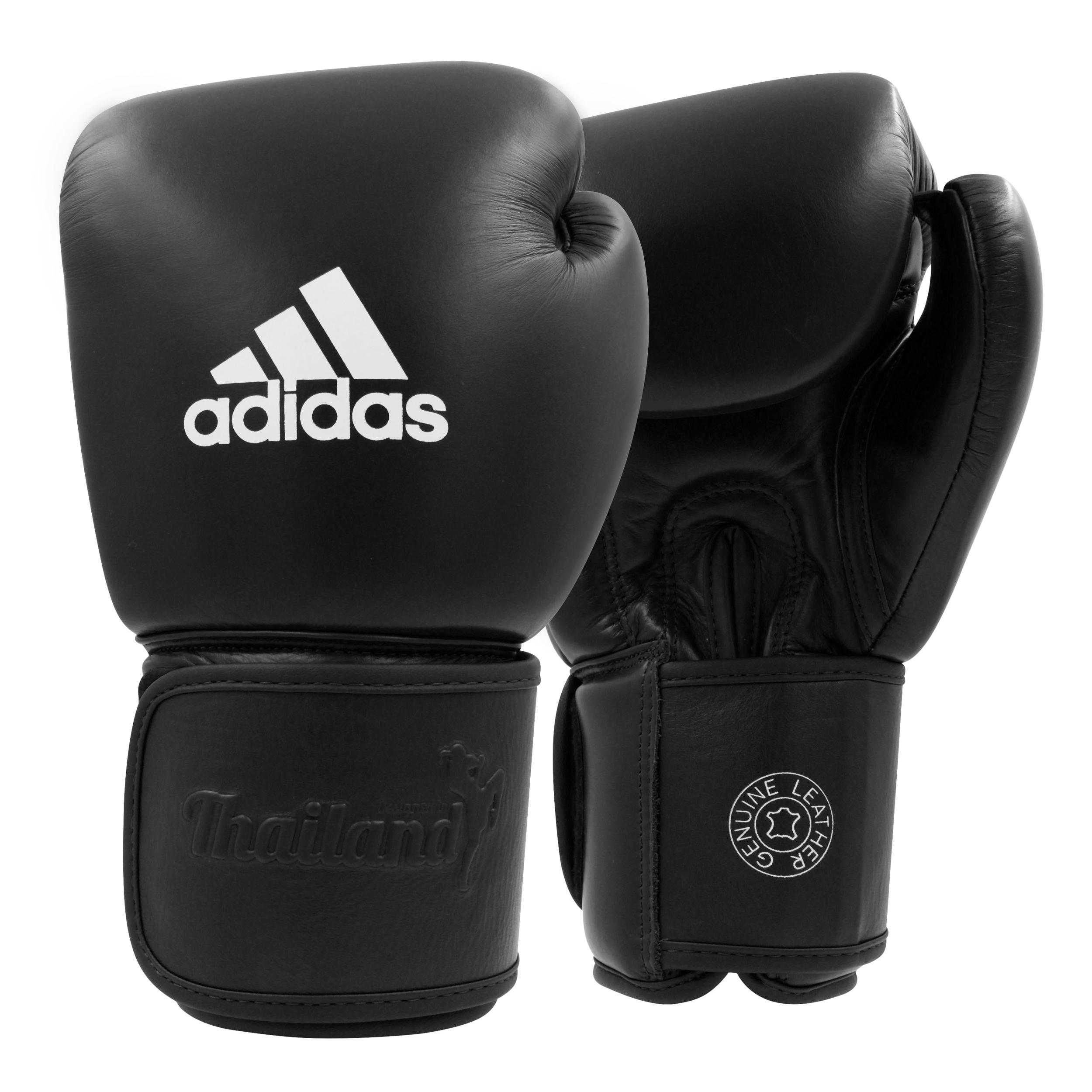 Gants de boxe Thaï Adidas en cuir