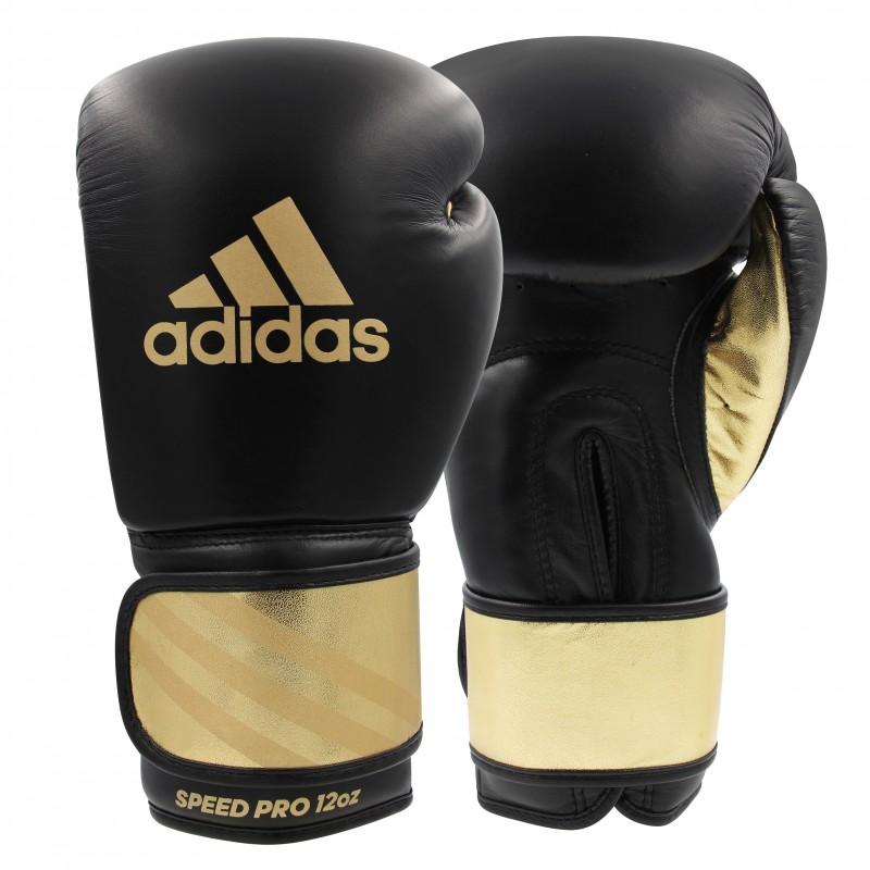 Gants de boxe Adidas en cuir Speed Pro 350