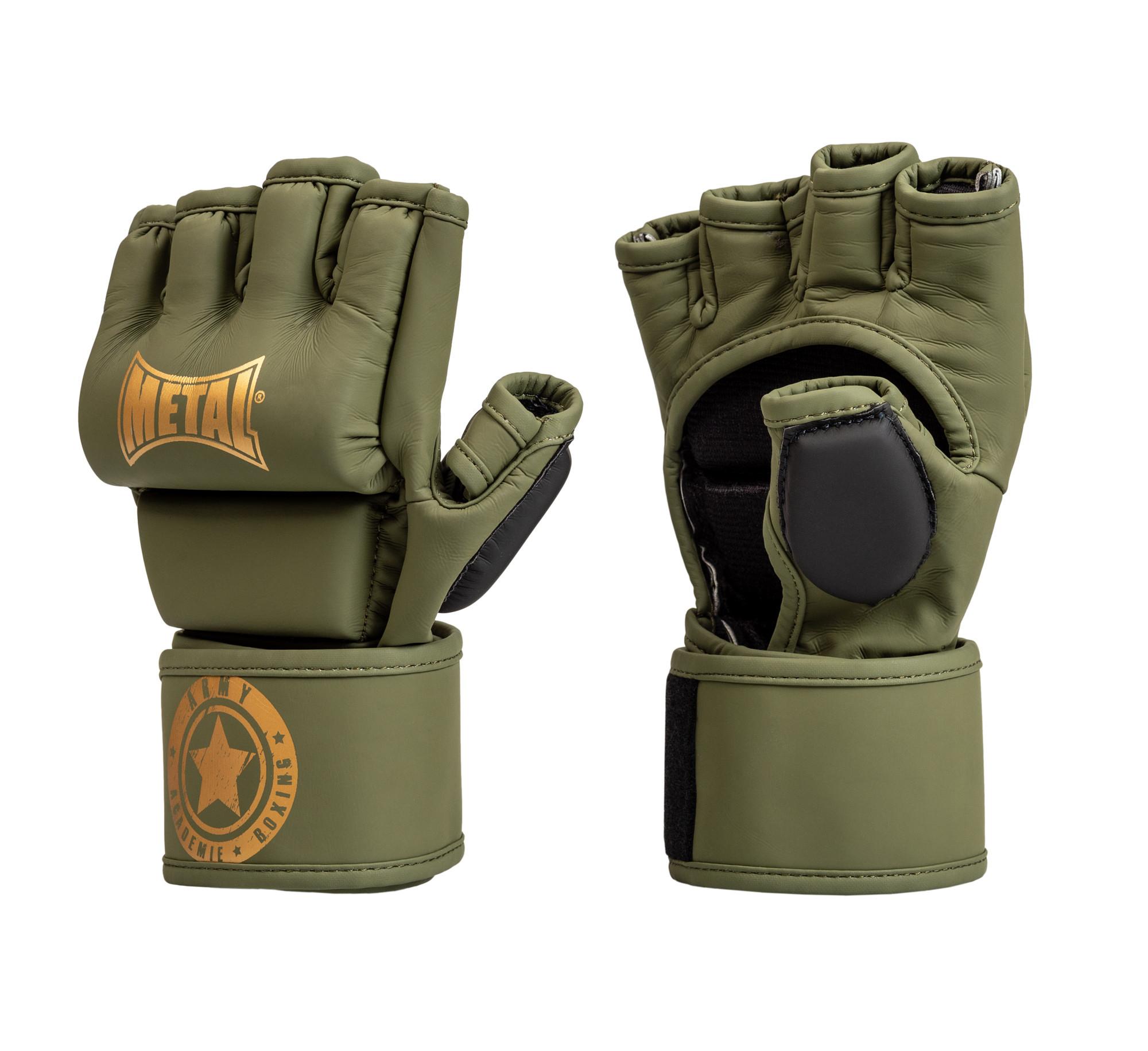 Gants de MMA Métal boxe Military