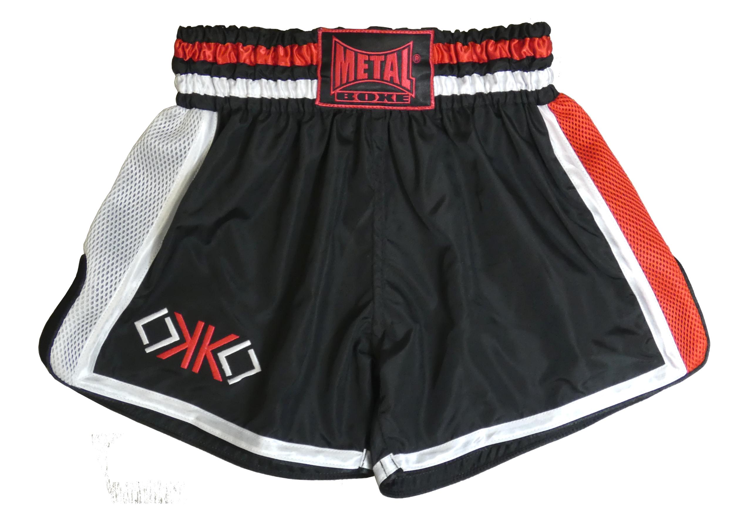Short Thaï Métal boxe OKO