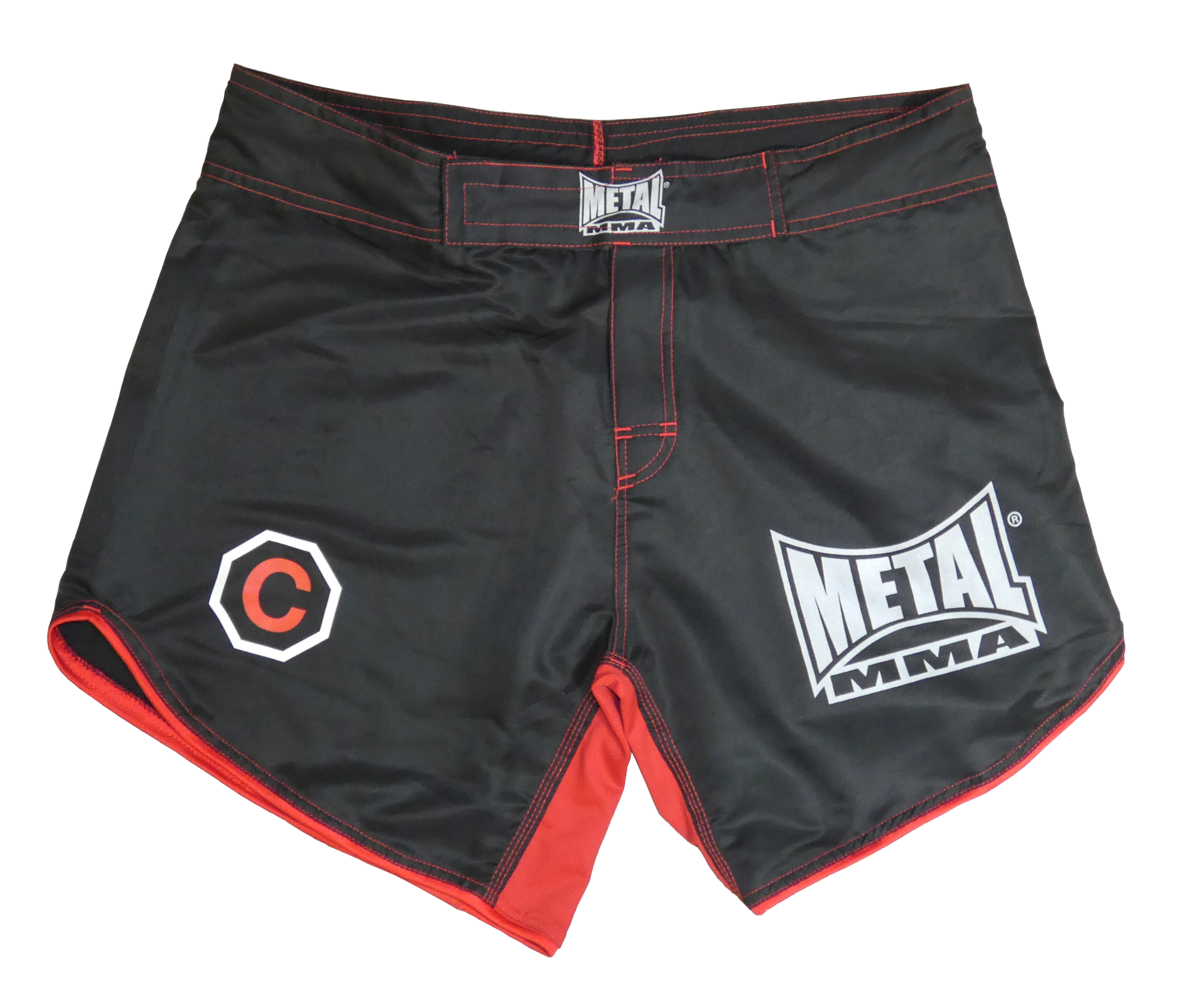 Short de MMA Métal boxe Courage