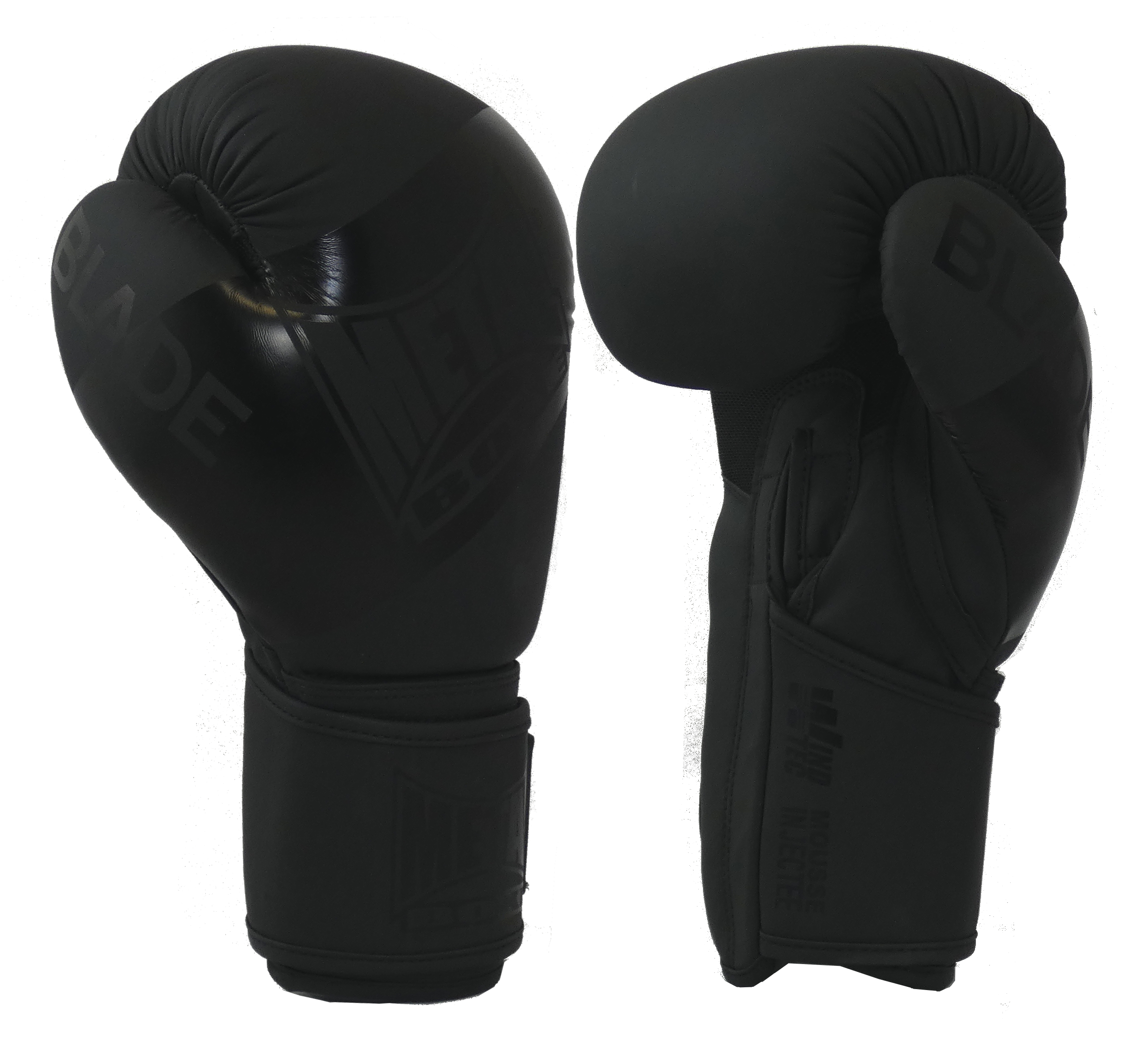 Gants de boxe Métal boxe Blade Black is Black