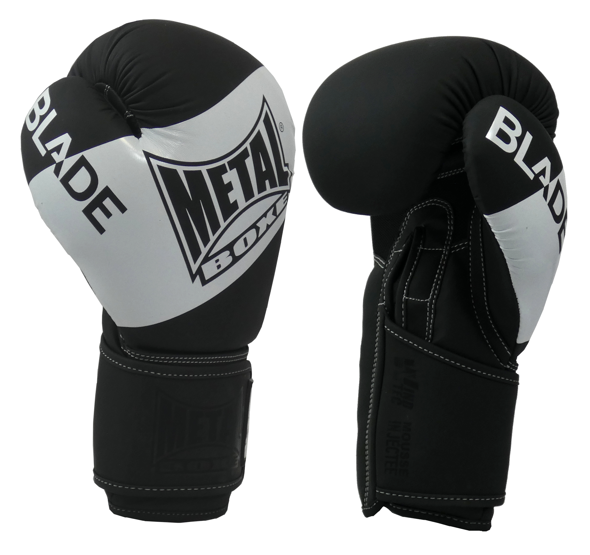 Gants de boxe Métal boxe Blade Black and White