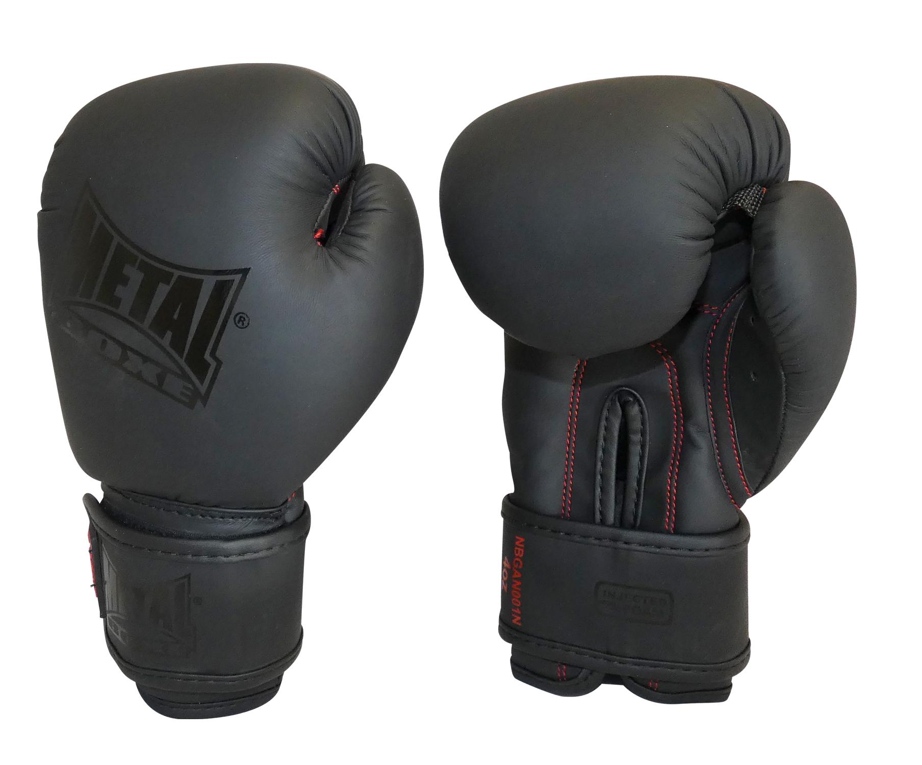 Gants de boxe Métal boxe Black Thaï