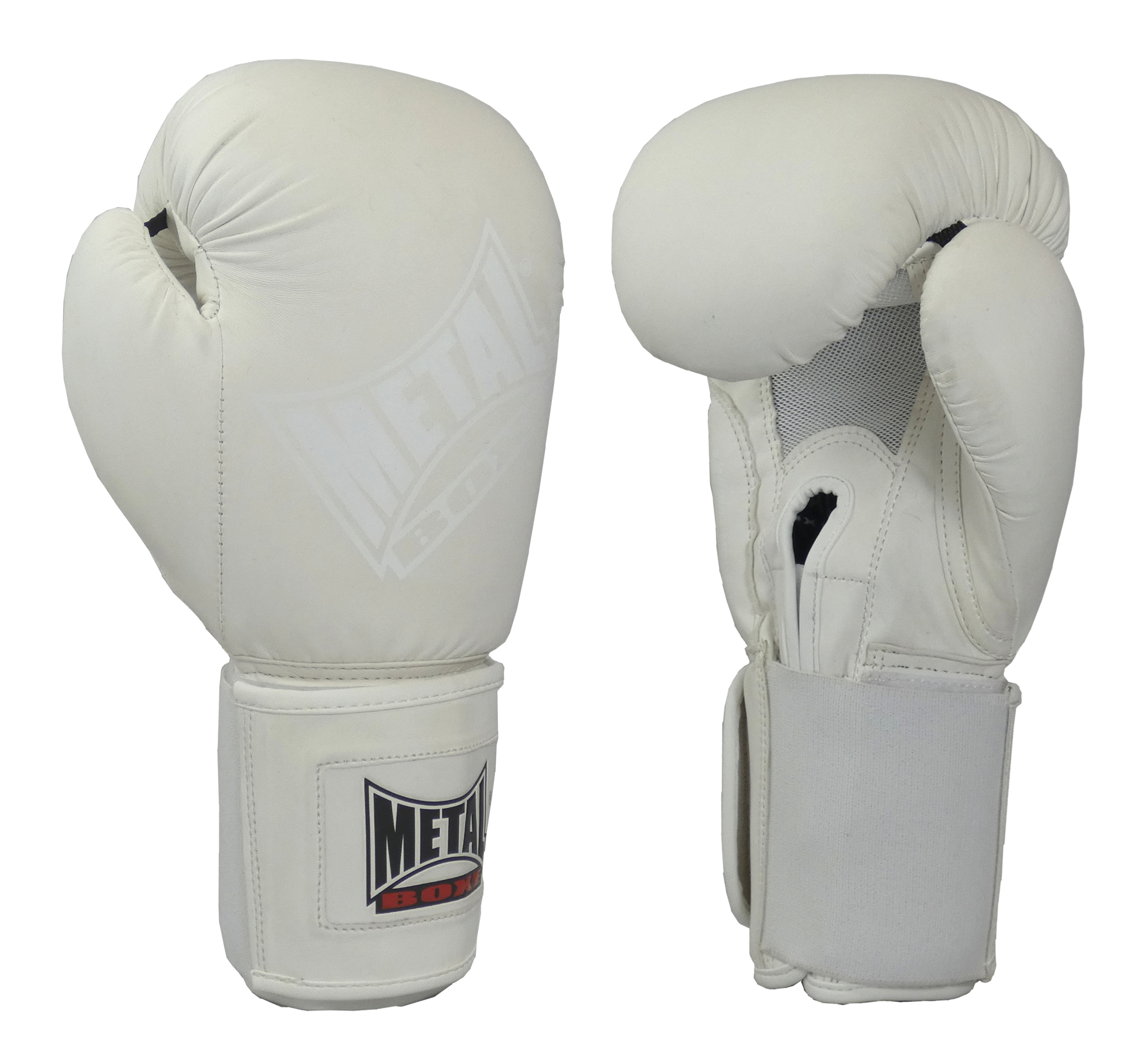 Gants de boxe Métal boxe White light