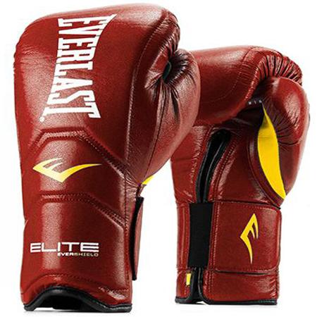Gants de boxe Everlast Elite pro