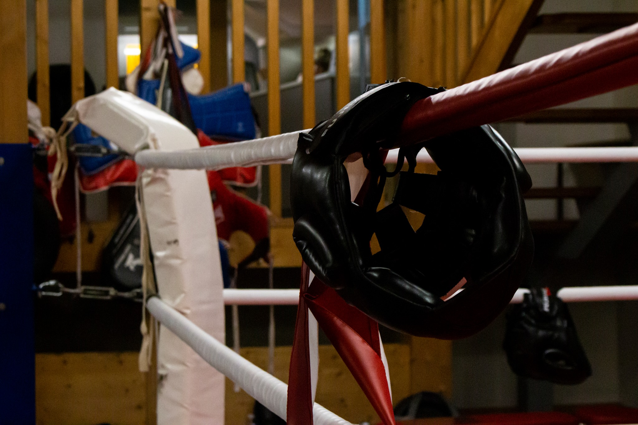 Couvre corde de ring