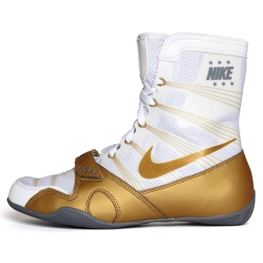 Chaussures de boxe Nike HyperKo Blanche et Or