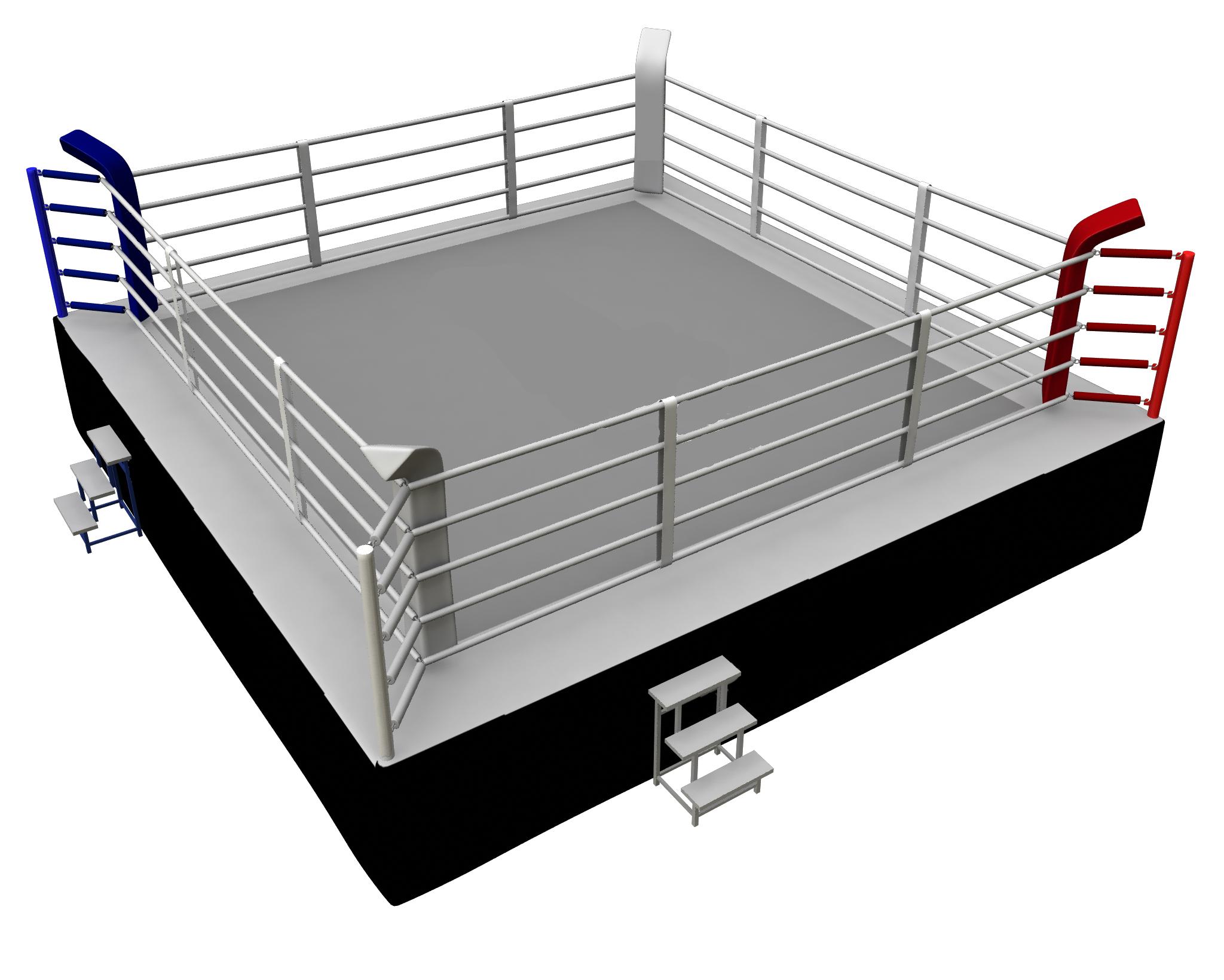 Ring de boxe compétition MMA