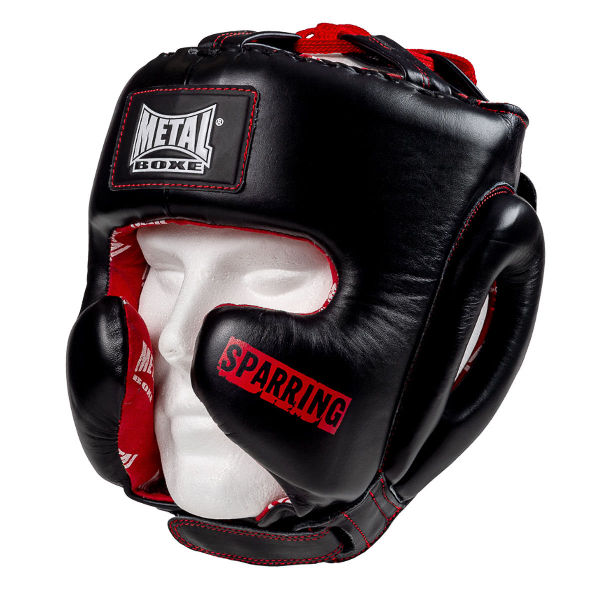 Casque semi intégral Métal boxe sparring
