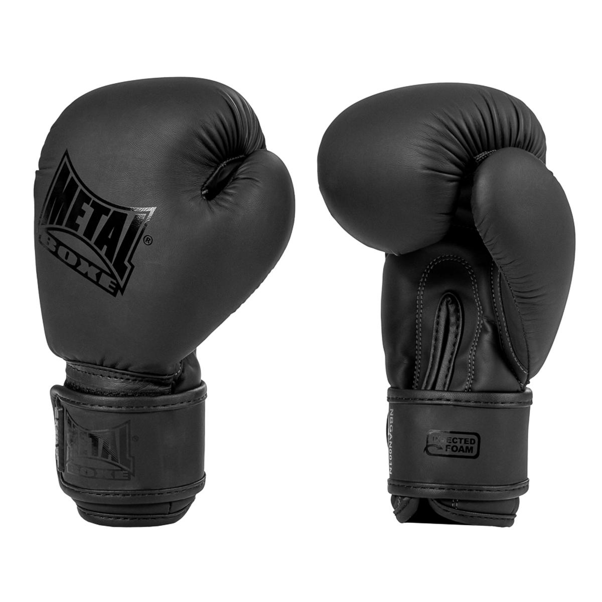 Gants de boxe Métal boxe enfants Mini Black