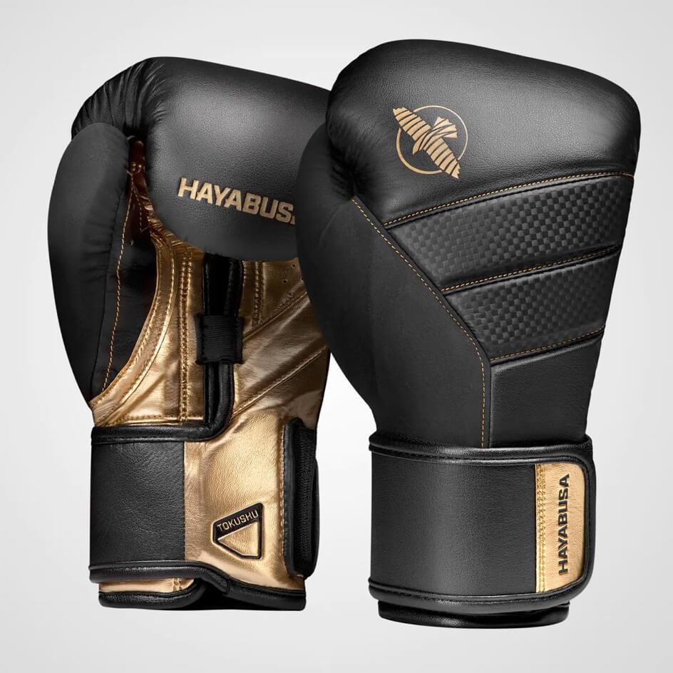 Gants de boxe Hayabusa T3 Noir et Or
