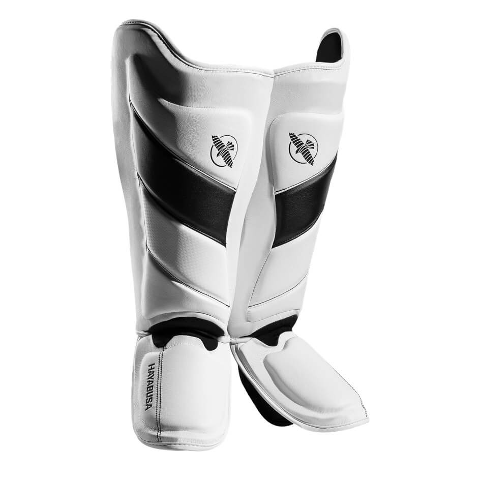 Protège Tibias Hayabusa T3 Blanc