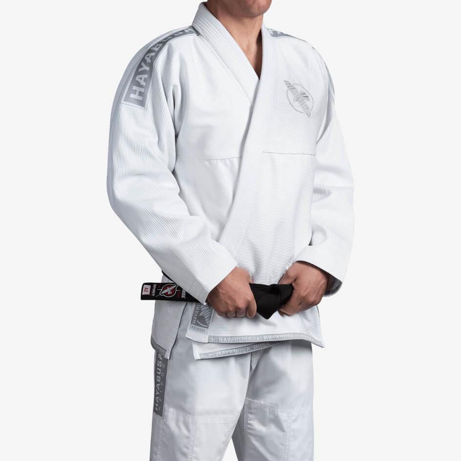 Kimono de JJB Hayabusa lightweight Blanc