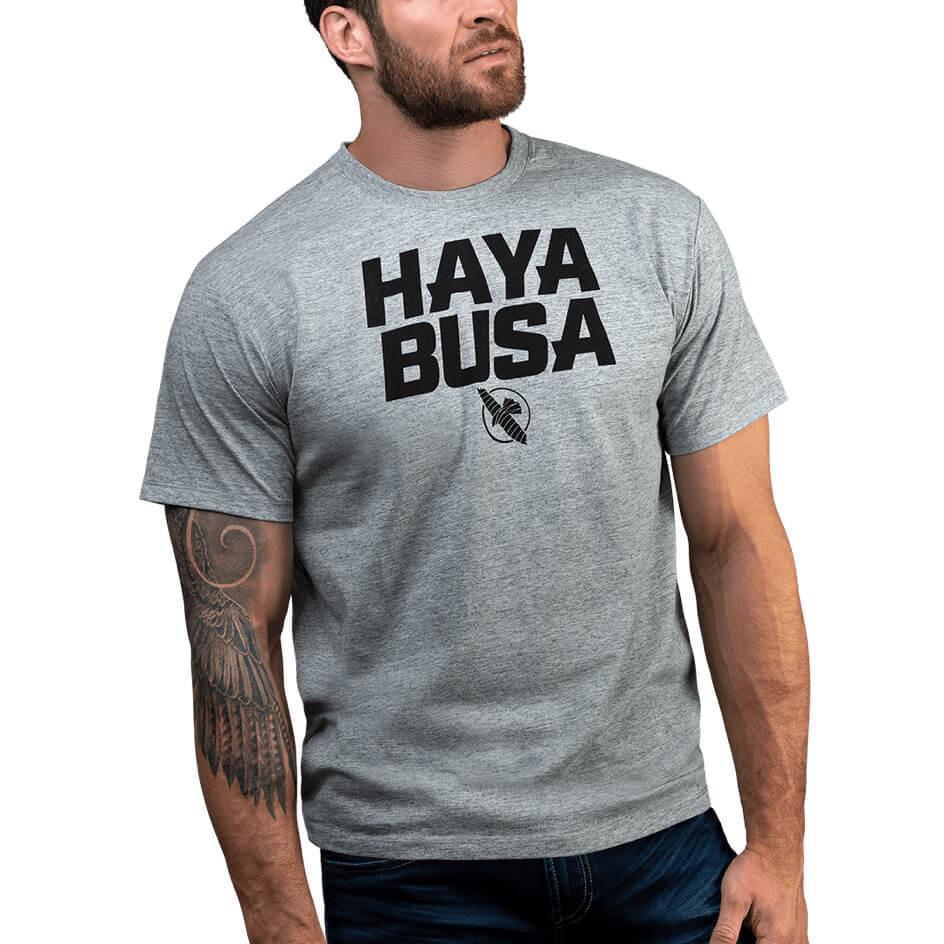 T-shirt Hayabusa Casual logo Gris