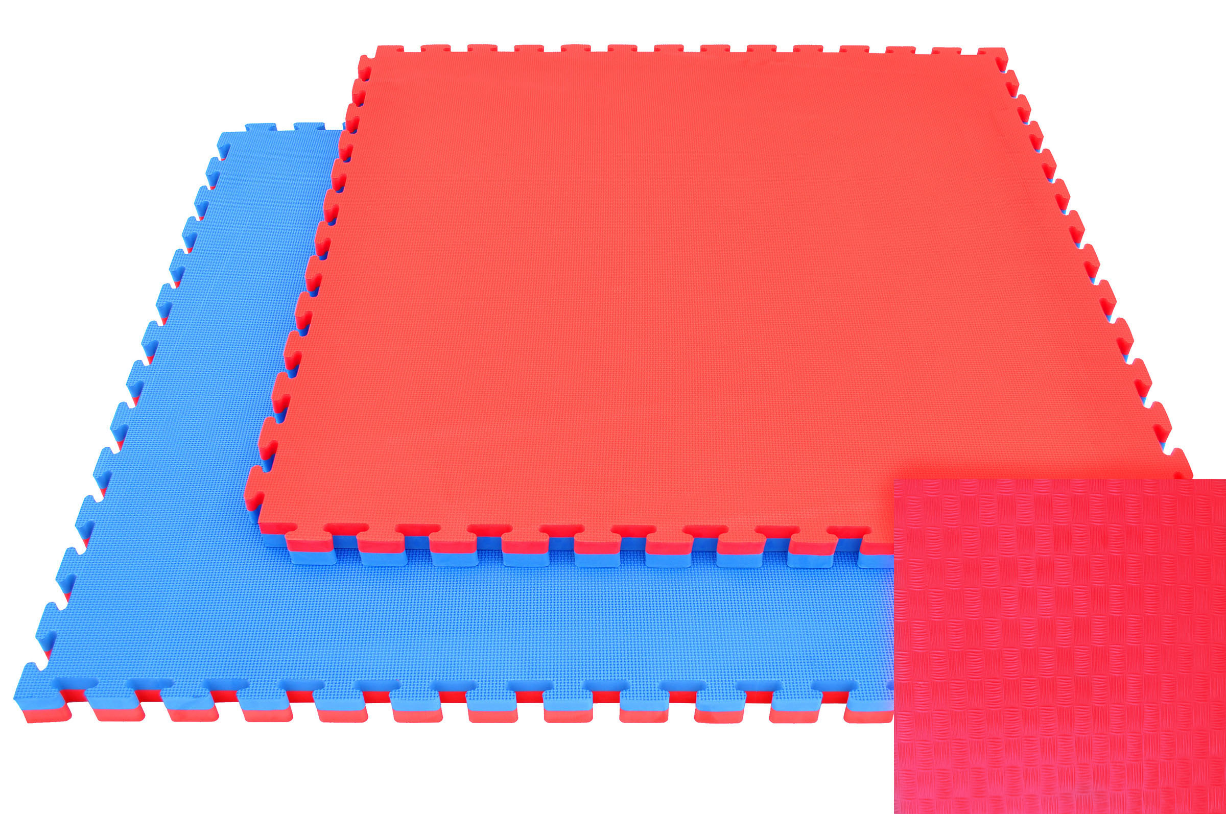 Tatamis puzzle 2.5 cm finition paille de riz