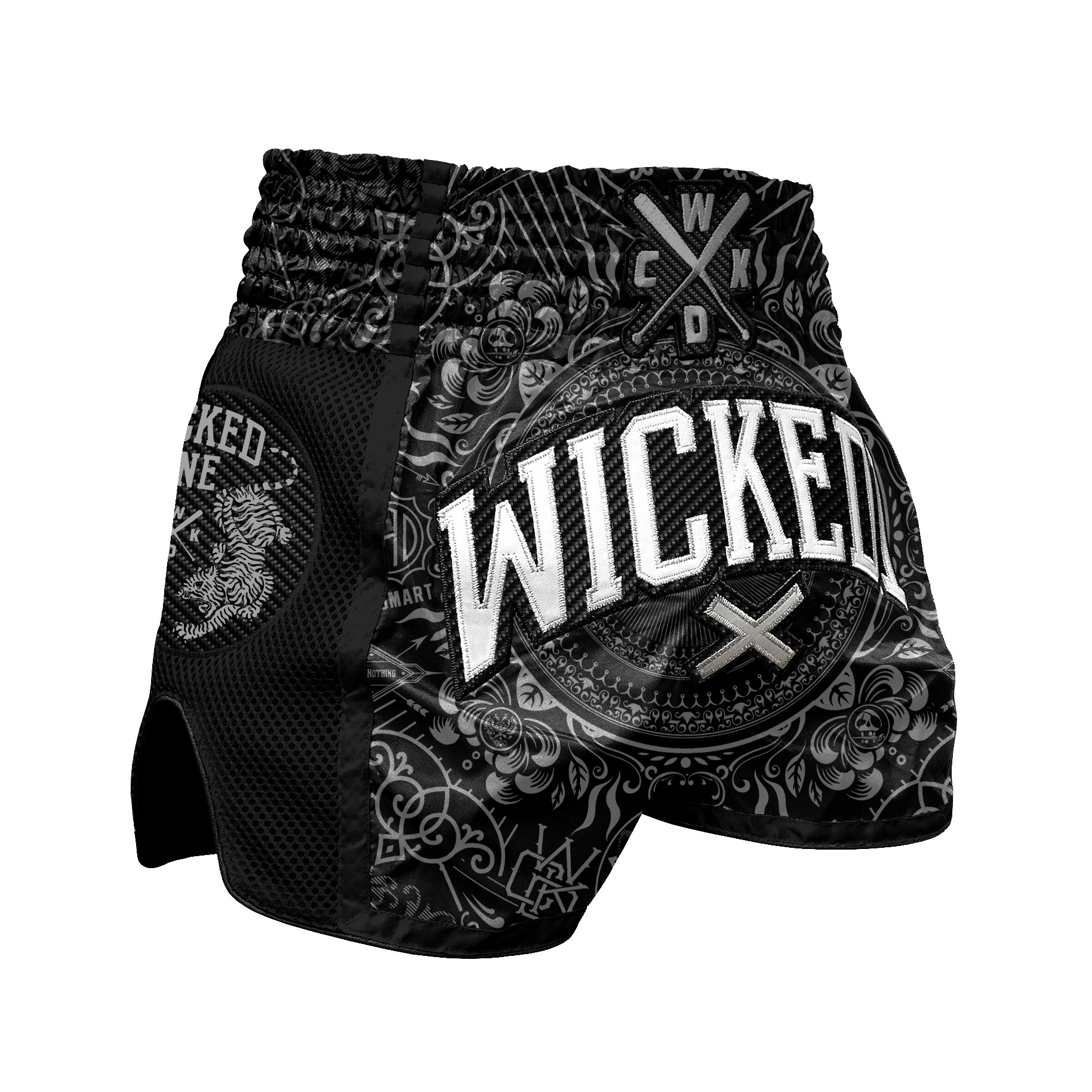 Short de Muay Thai Wicked one Brain