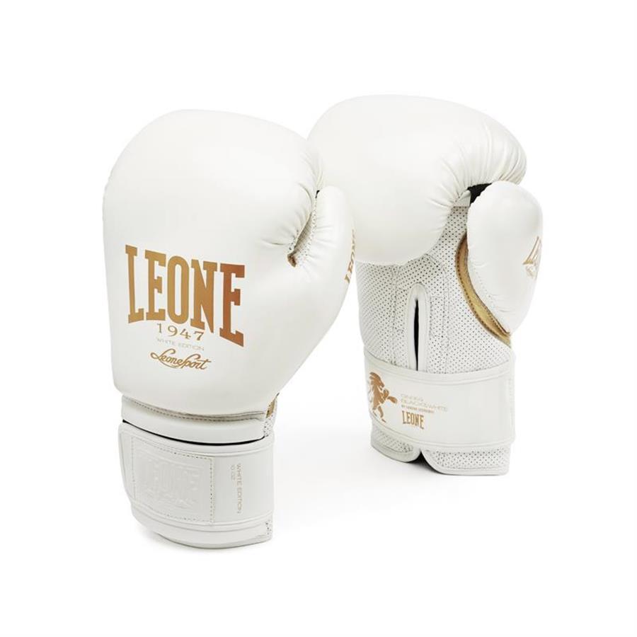 Gants de boxe Leone Blanc GN059