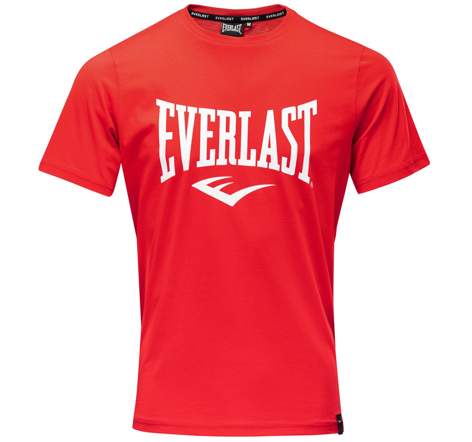 T-shirt Everlast classique Rouge