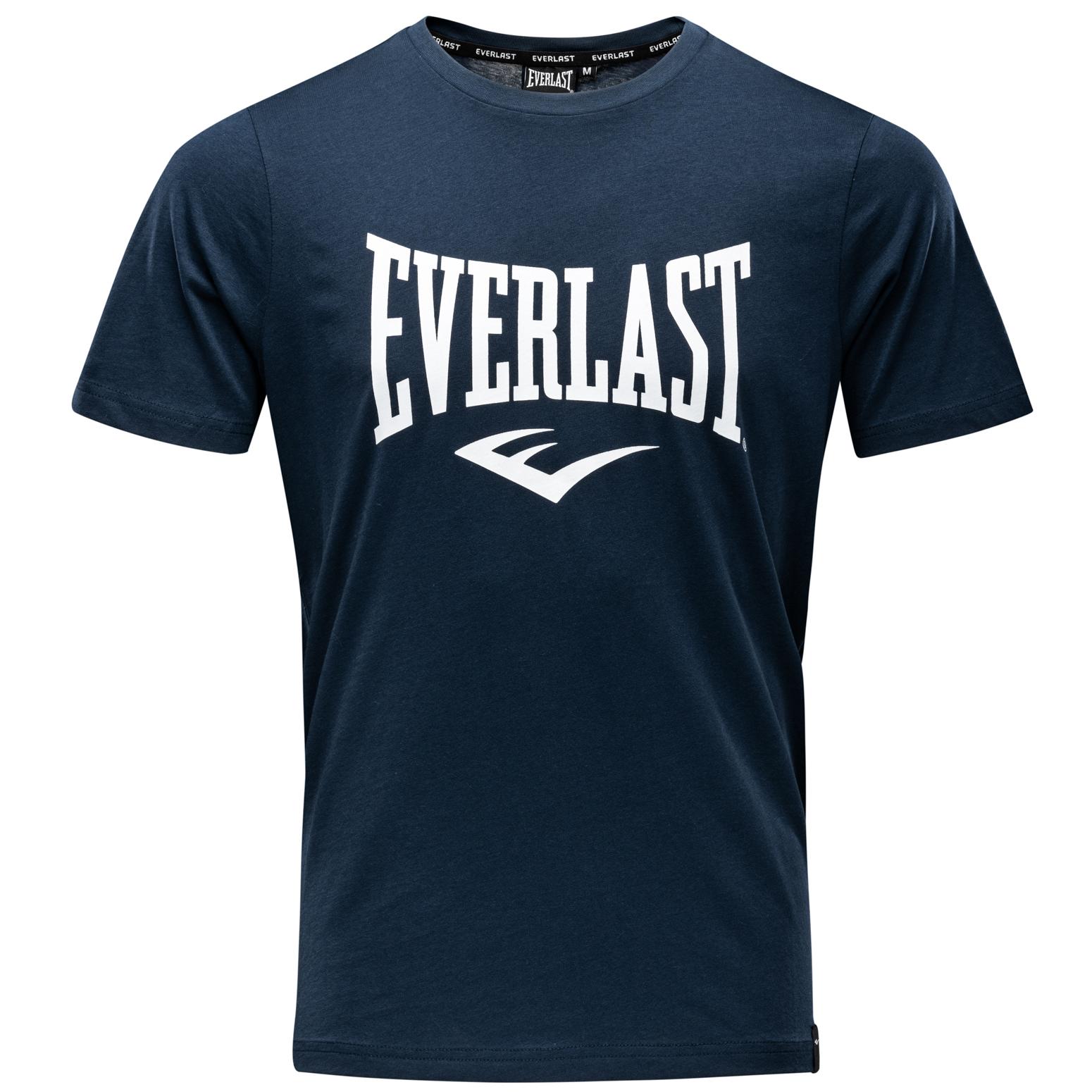 T-shirt Everlast classique Bleu