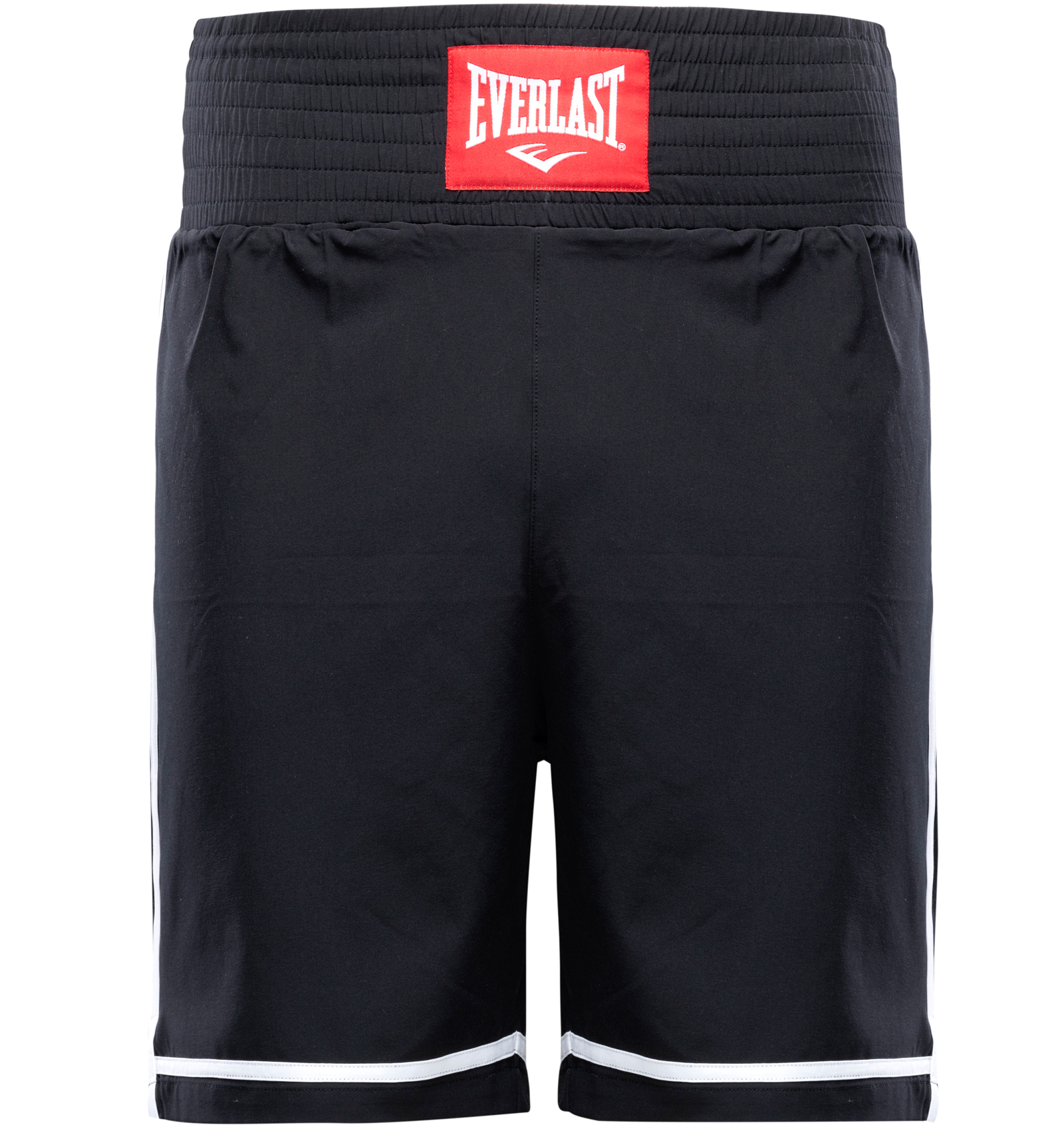 Short de boxe Everlast cross Noir et Blanc