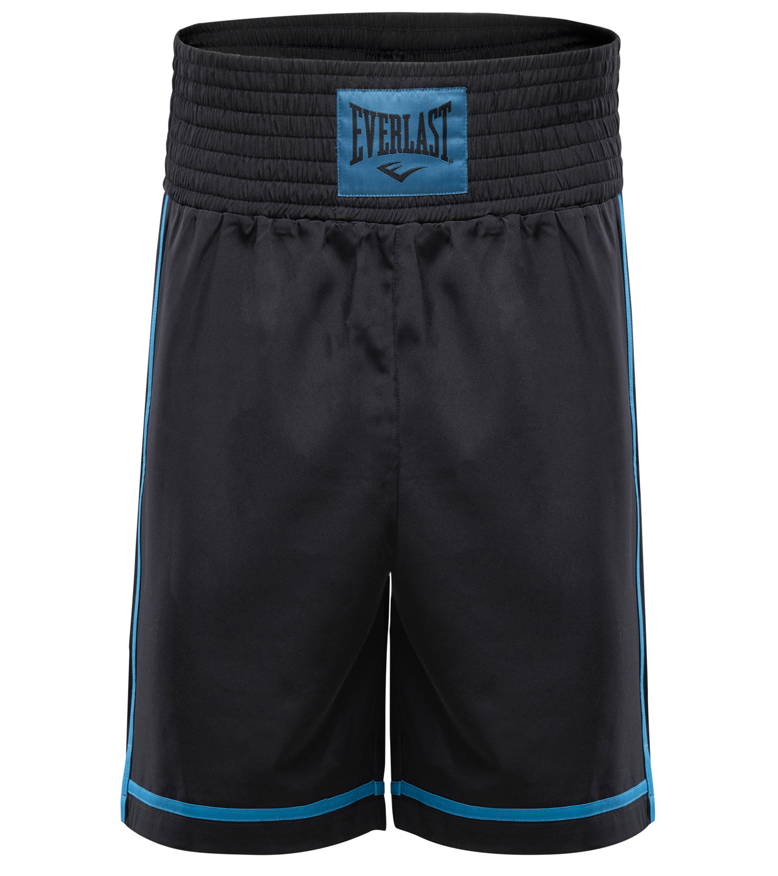 Short de boxe Everlast Cross Noir et Bleu
