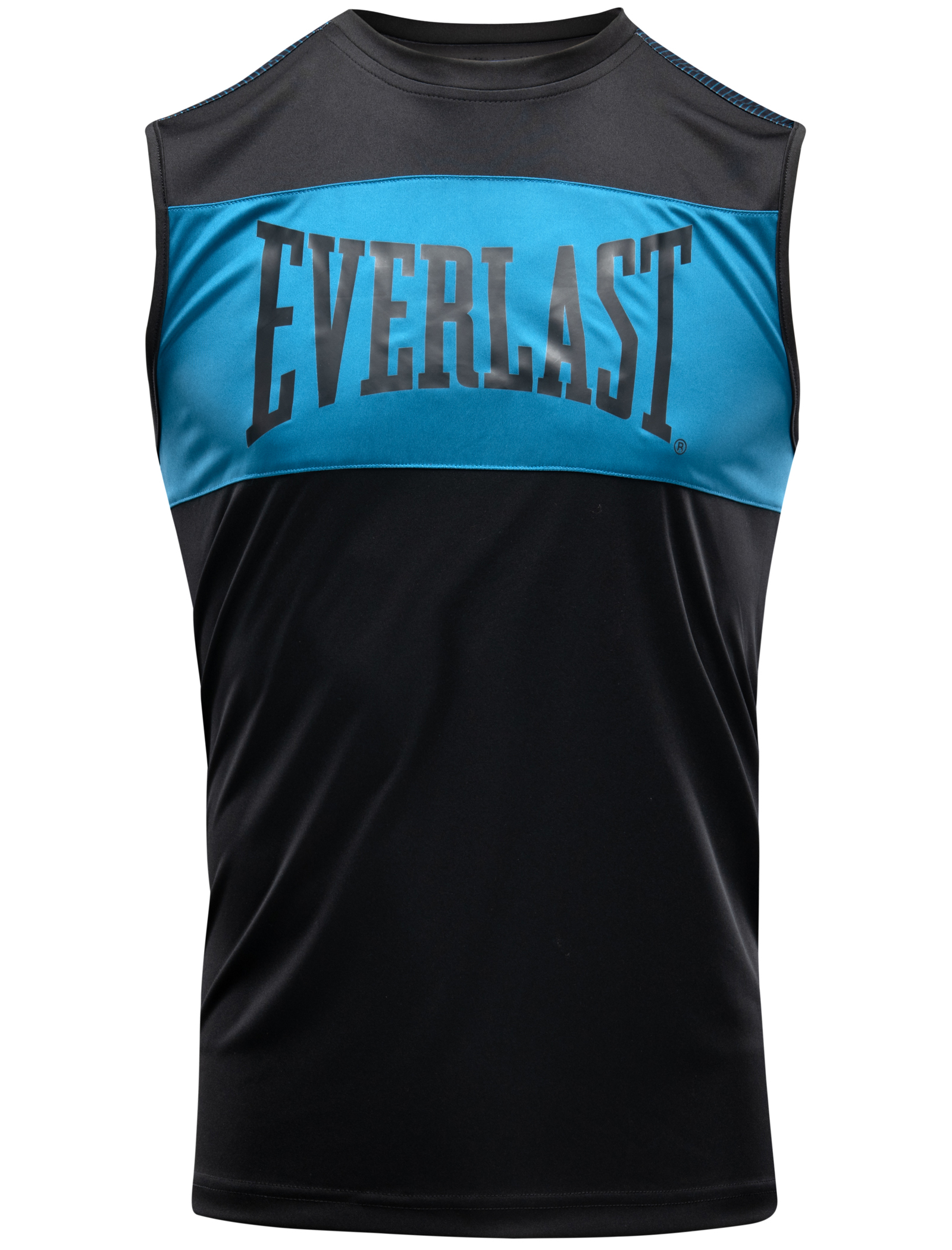 Débardeur boxe Everlast Jab Noir et Bleu