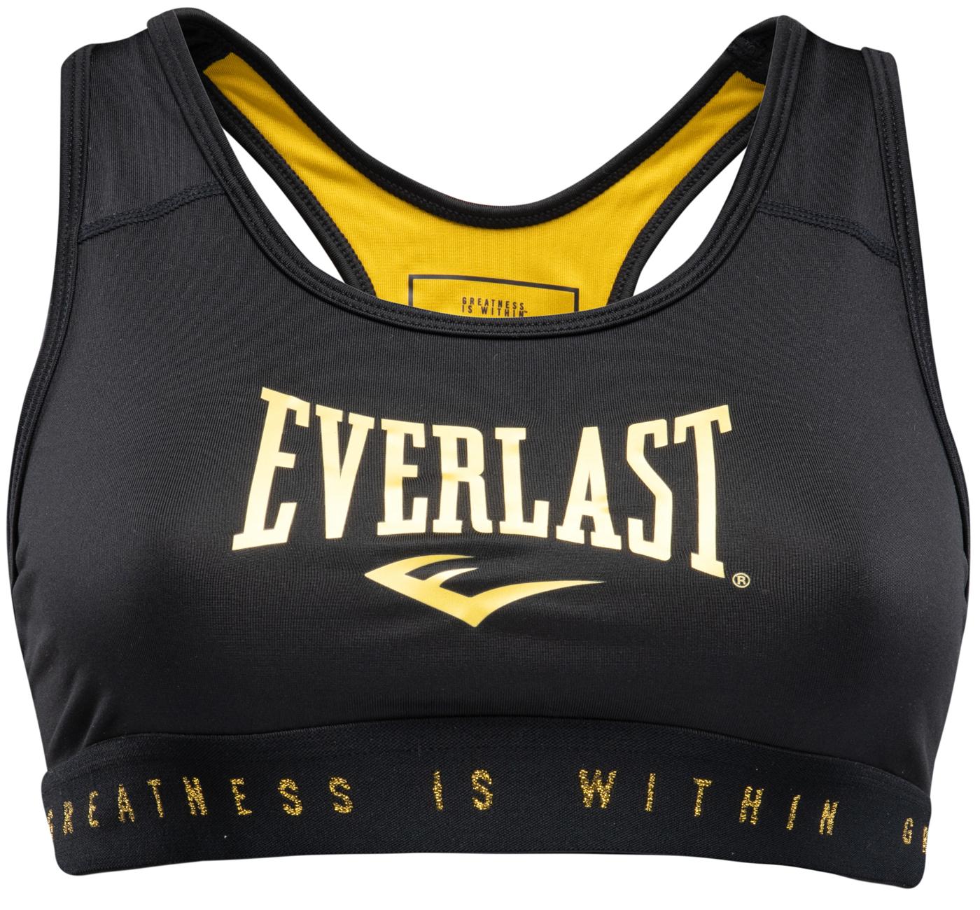 Brassière Everlast Brand BR Noir et Or