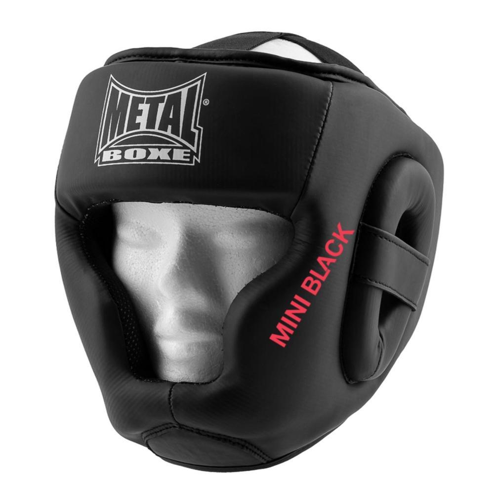 Casque de boxe enfant mini black Métal boxe