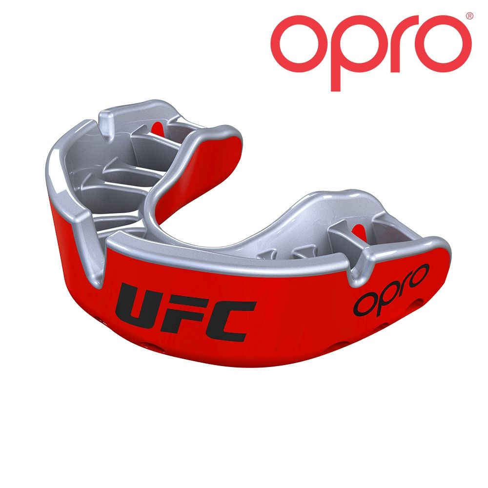 Protège dents UFC Opro Gold Rouge - Sylver