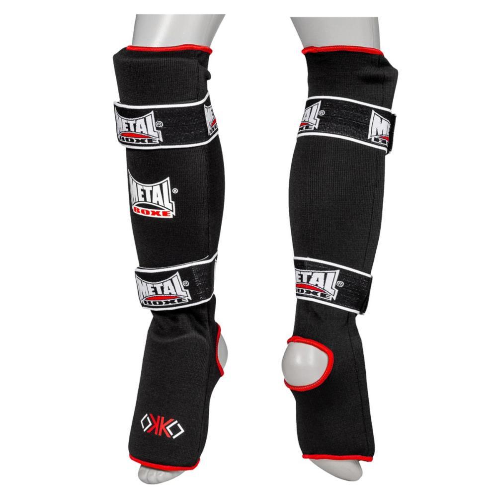 Protège tibias-pieds Métal boxe OKO