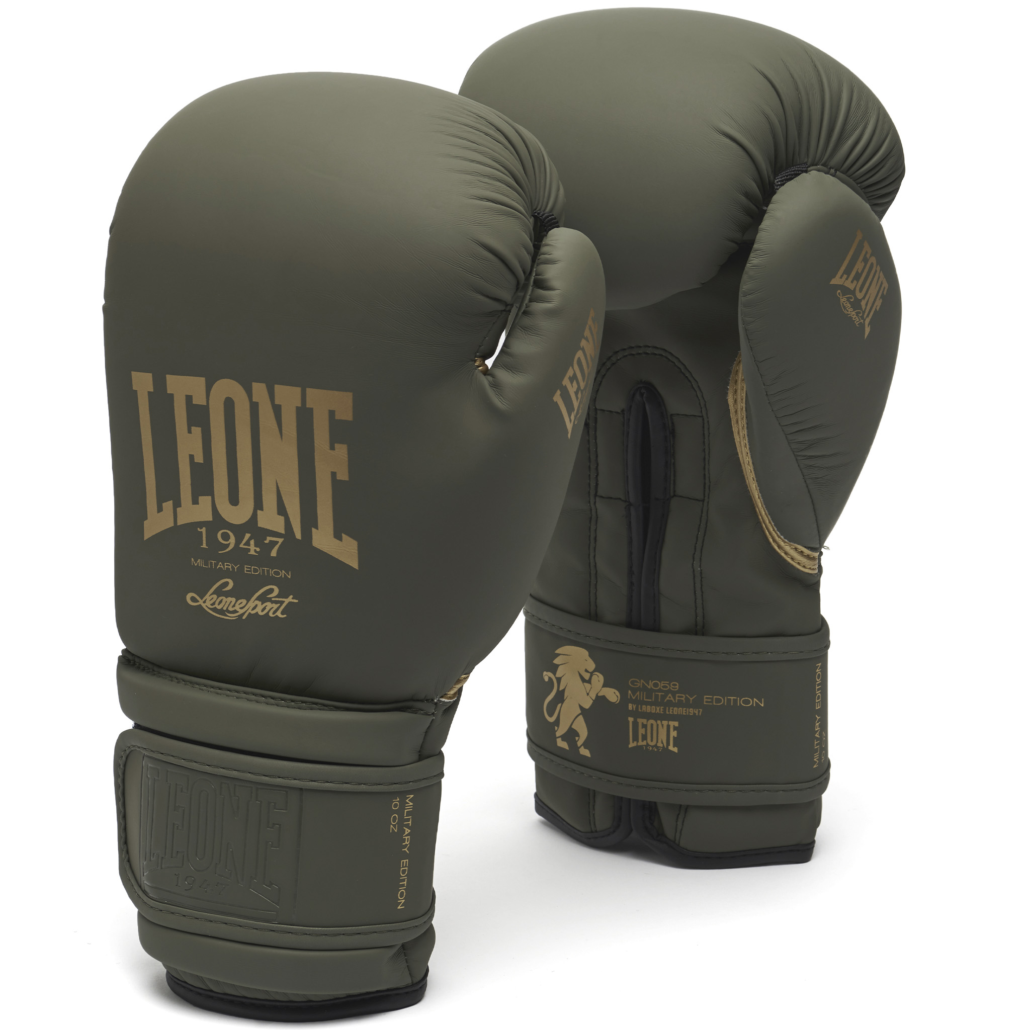 Gants se boxe Leone GN059 Military