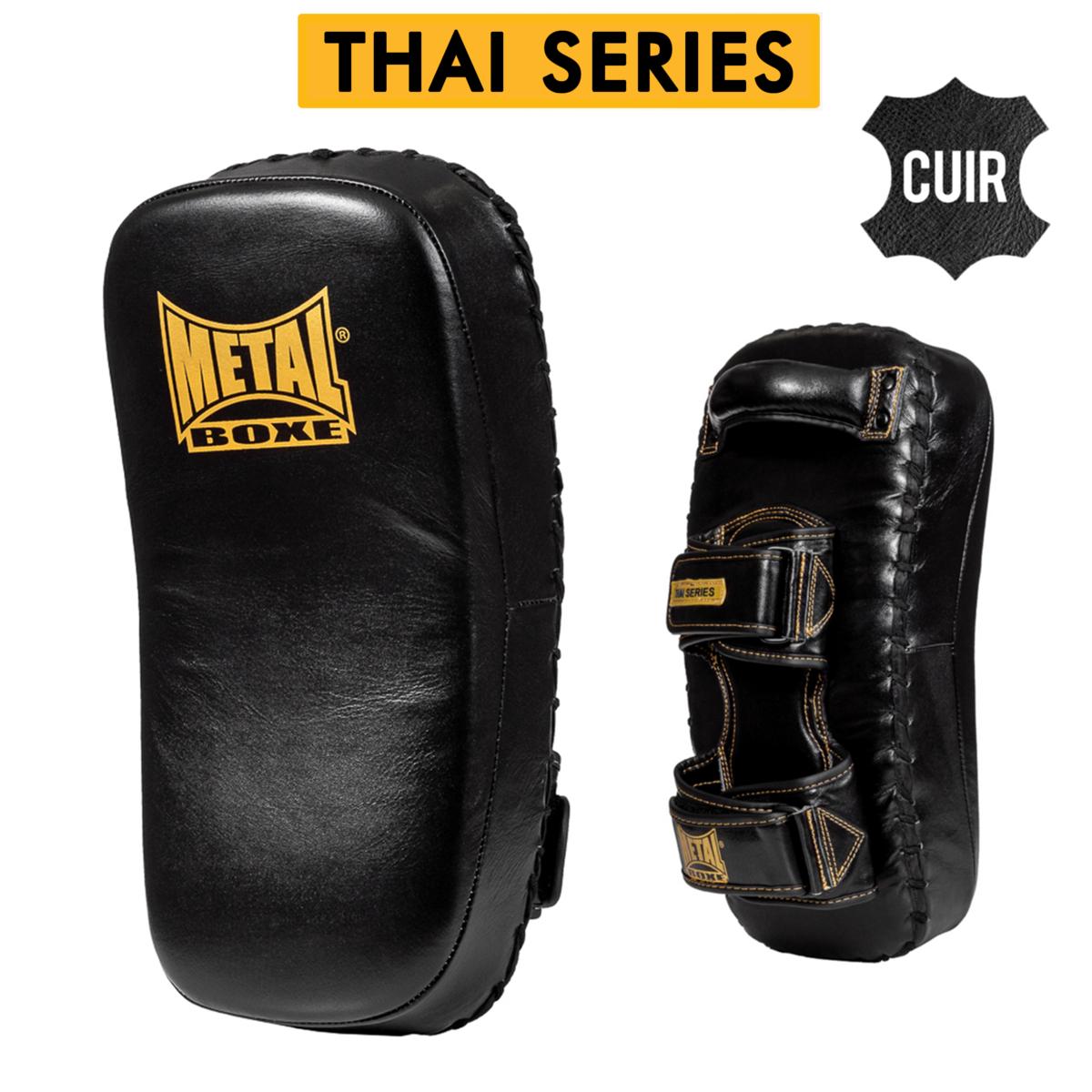 Pao Thaï séries en cuir Métal boxe