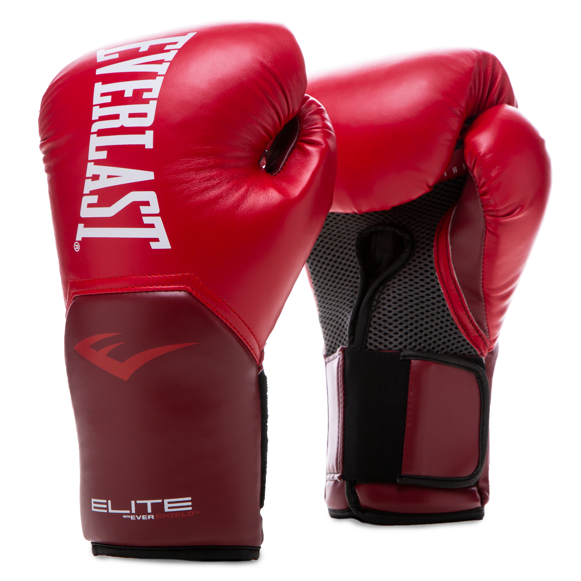 Gants de boxe Everlast pro style elite training rouge