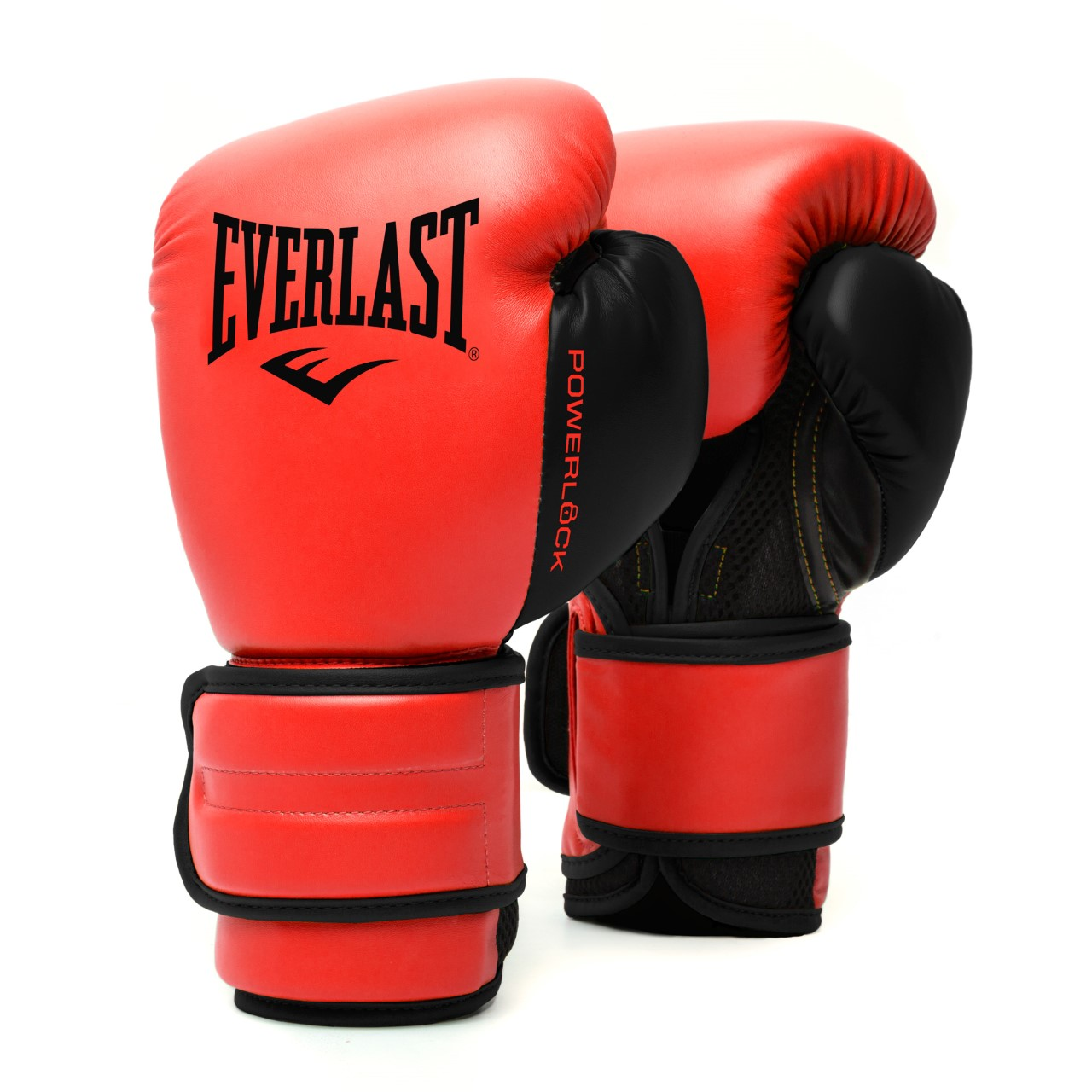 Gants de boxe Everlast Powerlock 2 Rouge