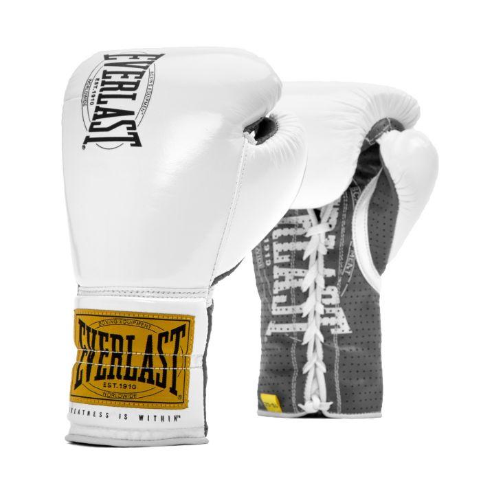 Gants de boxe Everlast 1910 à lacets