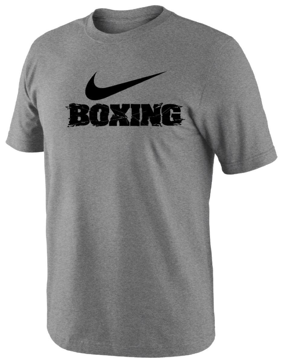 T-shirt Nike boxing Gris