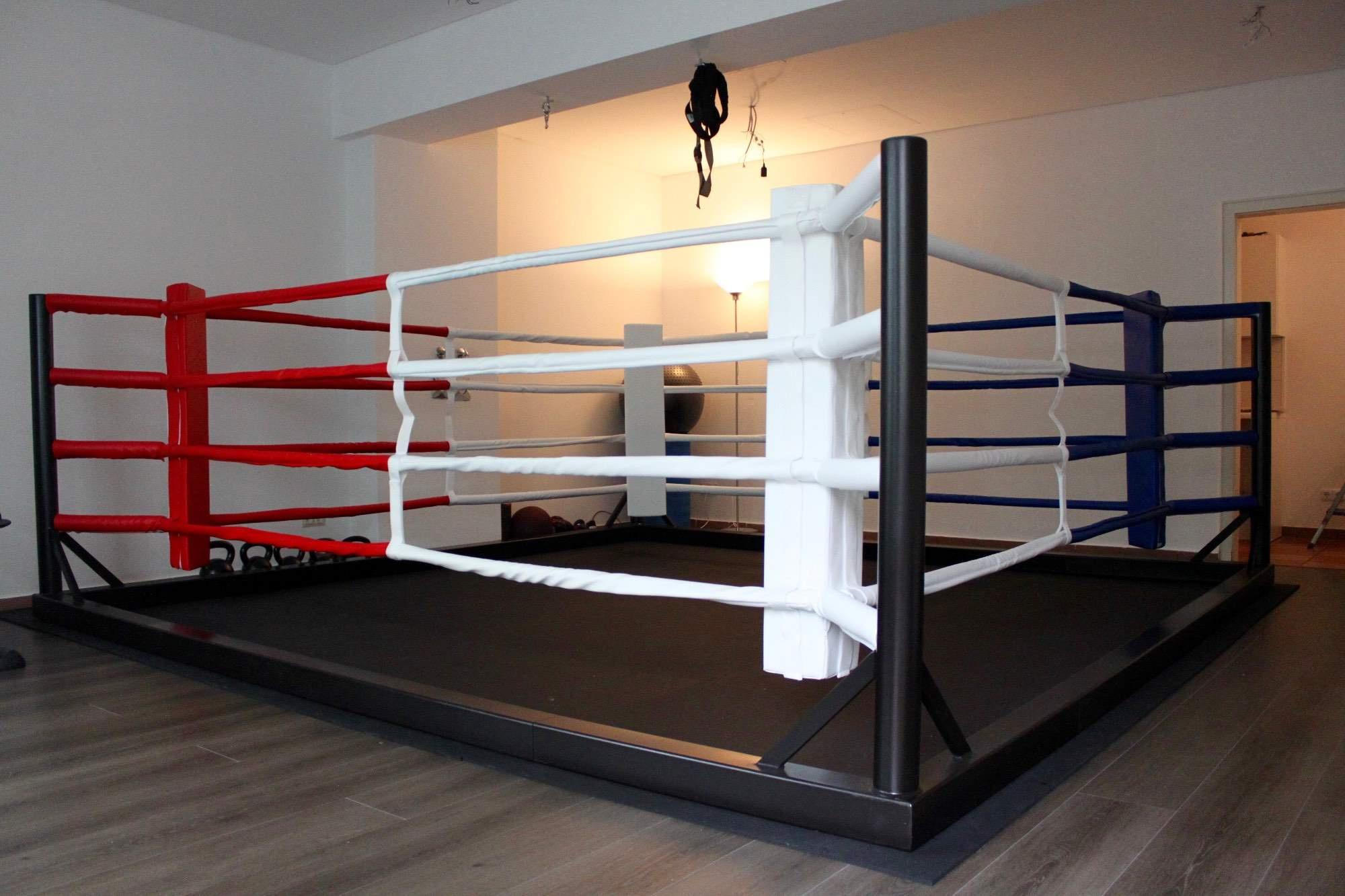 Ring de boxe démontable