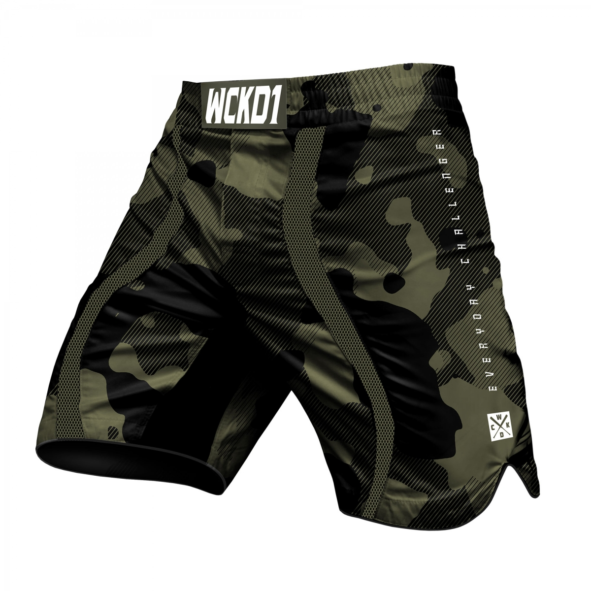 Short de MMA Wicked one Cloze Khaki