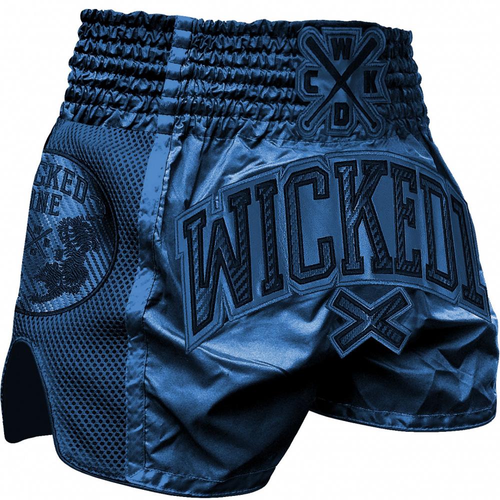 Short Wicked One Cross Blue